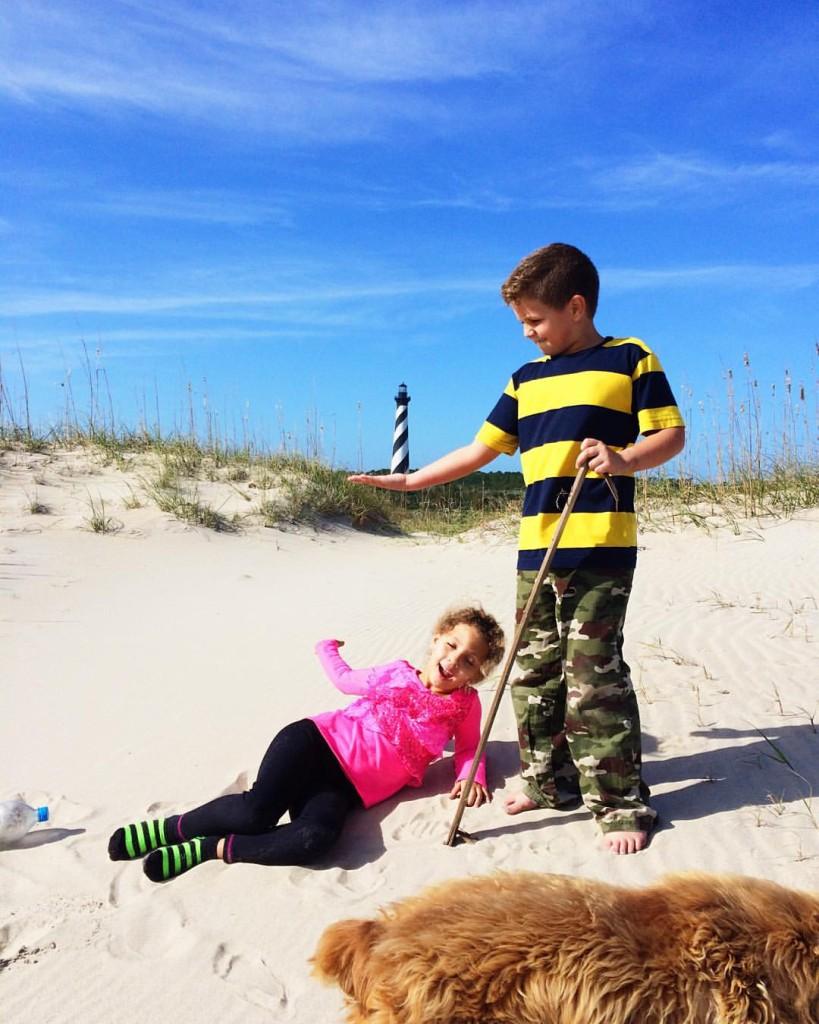 Beackyard Vacations | Beach Adventures | Buxton, NC | November 22, 2015 by Caroline Jarvis Photography-November 21, 201519