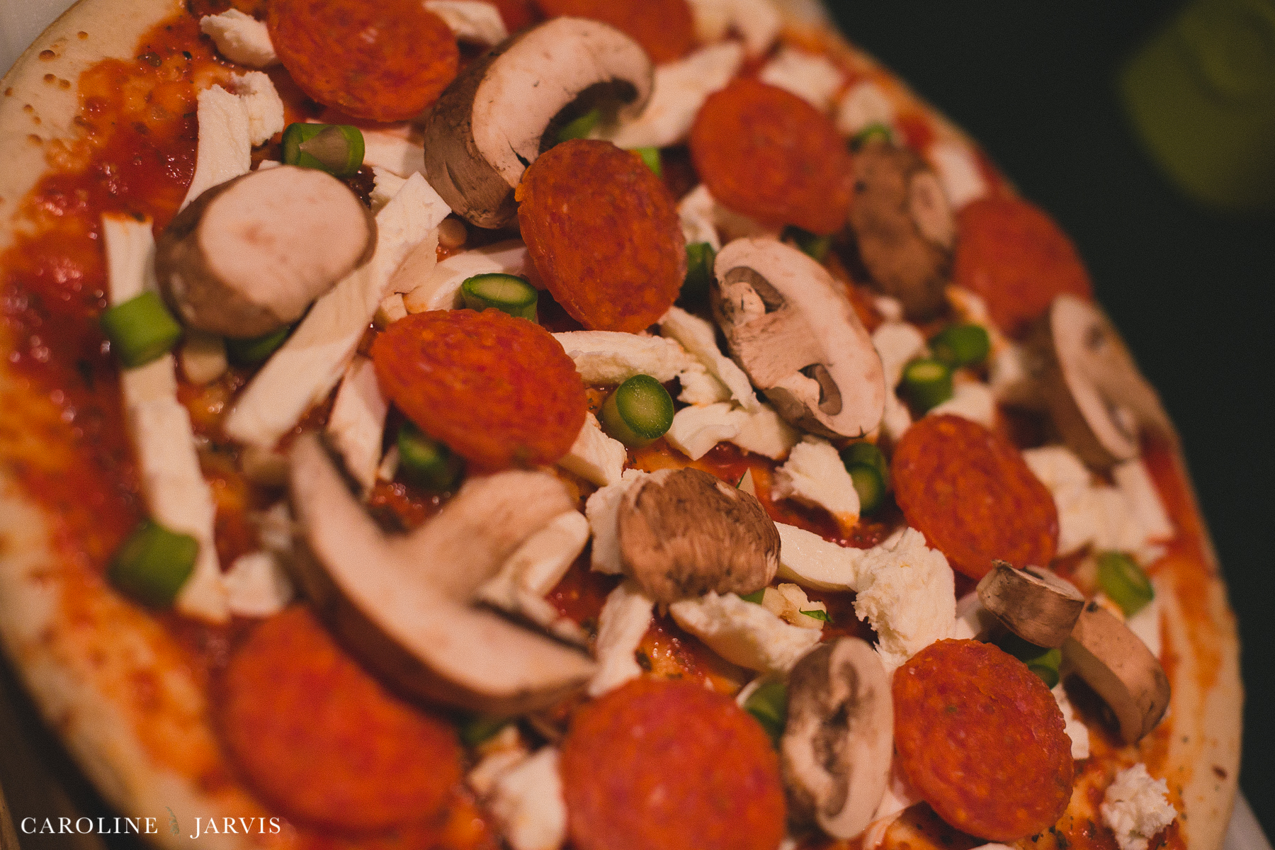 Meat lovers Pizza with Pepperoni, Sausage and Mushroom