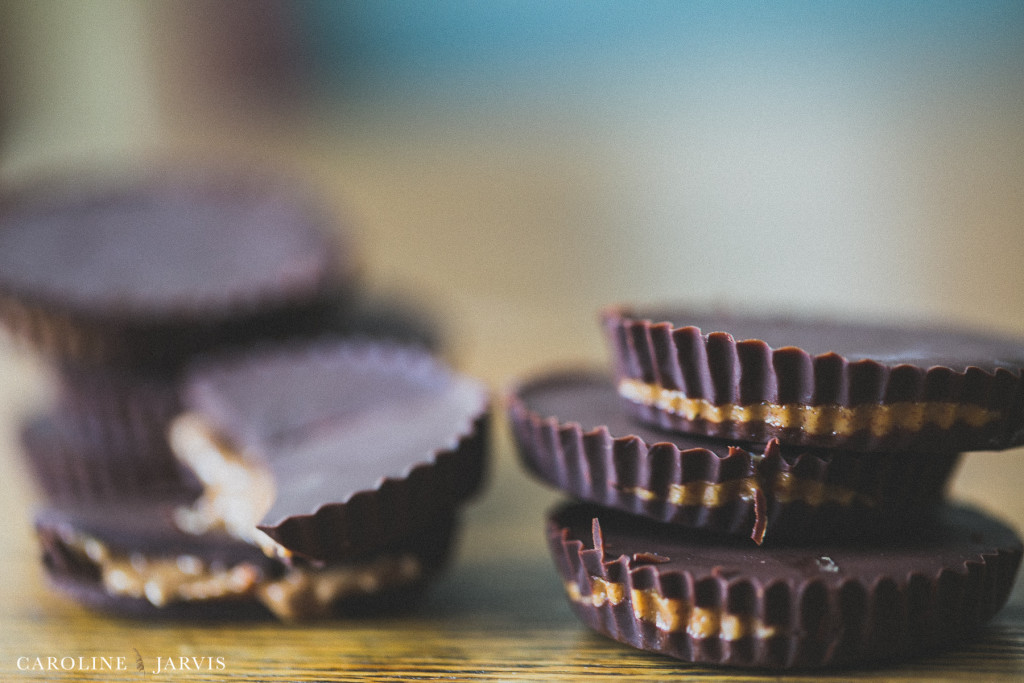 Peanut Butter Cups - Homemade & Healthier by Caroline Jarvis Photography