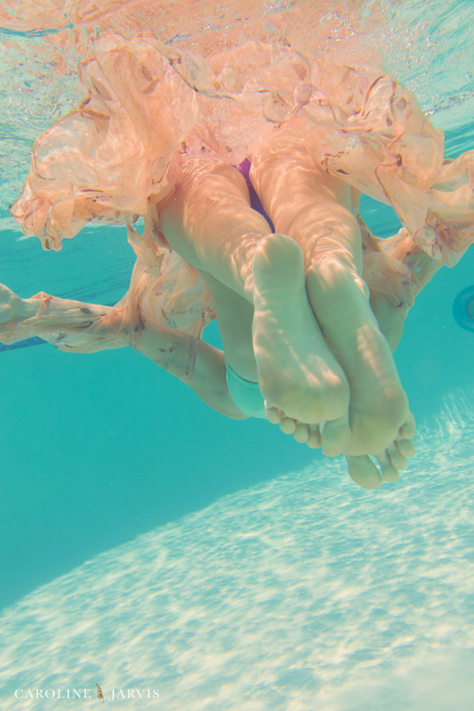 Underwater Photography - Mermaid Style by Caroline Jarvis Photography