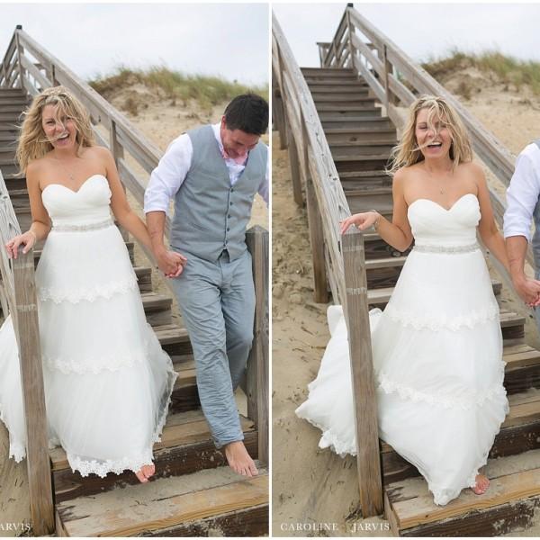 Outer Banks Wedding - Mr. & Mrs. Bicknell
