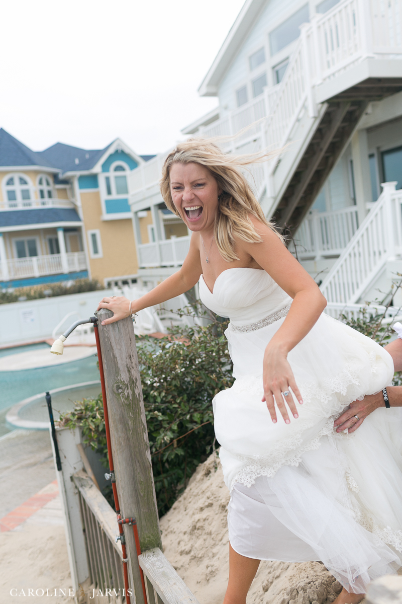 Outer Banks Wedding - Mr. & Mrs. Bicknell - Photography by Caroline Jarvis