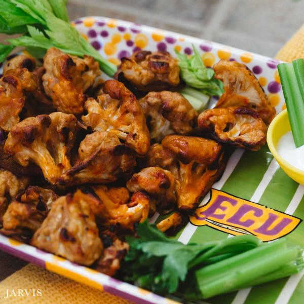 Cauliflower Buffalo Wings.....Super Bowl Sunday Style