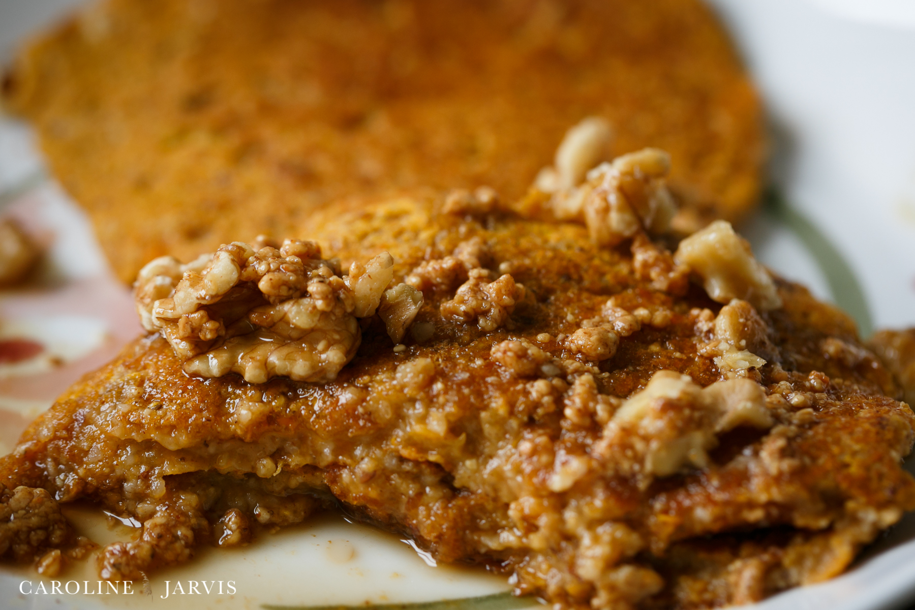 Sweet Potato Pancakes by Caroline Jarvis Photography