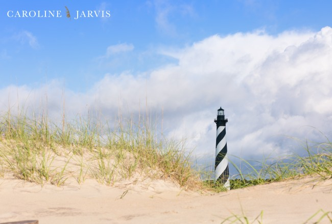The Cape Hatteras Lighthouse by Caroline Jarvis Photography