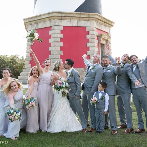 Outer Banks Wedding - Mr. & Mrs. Raab