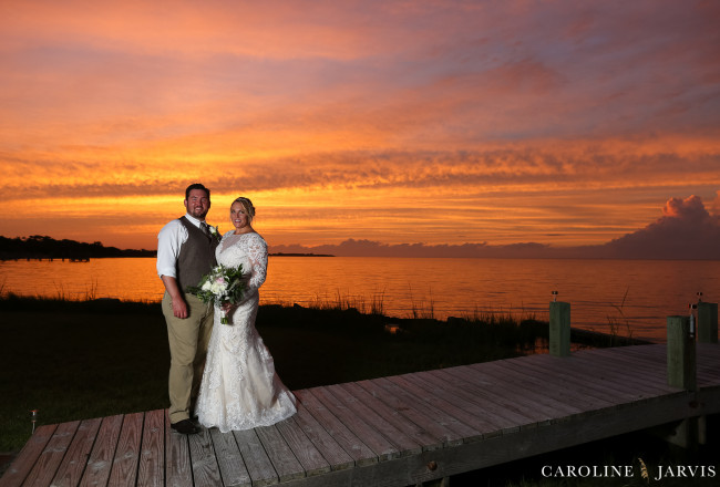 The Inn on Pamlico Sound Sunset Wedding