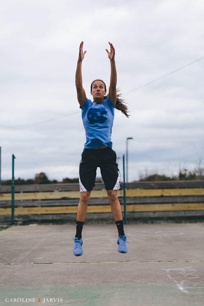 March Madness - Basketball Inspired Workout with Paxton and Caroline Jarvis Photography