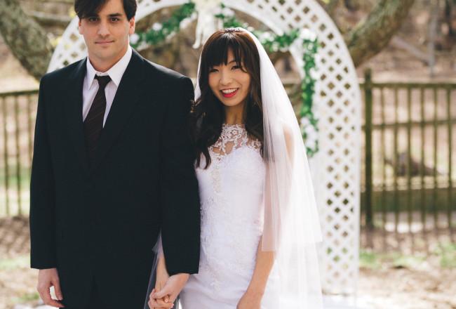 Ryan & Moon's Wedding by Caroline Jarvis Photography