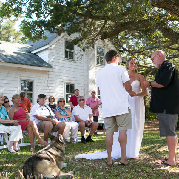 Erick & Shannon O'Neal's Wedding in Ocracoke, NC