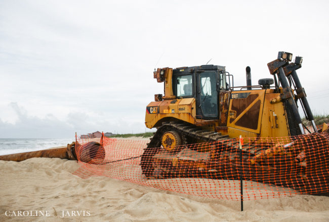 Beach Nourishment for Buxton, NC