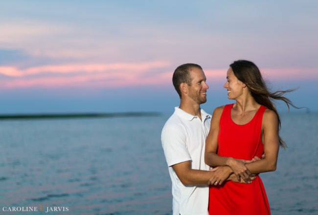 Robby & Paxton's Sunset Engagement