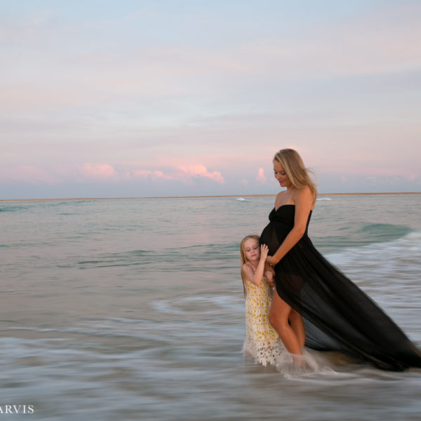 Outer Banks Maternity Session by Caroline Jarvis Photography