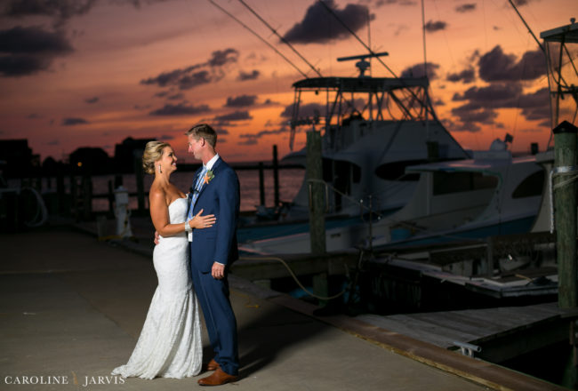 Raleigh & Kaisey Watson's Marlin Club Wedding in Hatteras, NC