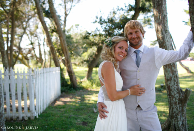 Ocracoke Island Wedding - Mr. & Mrs. Aiken