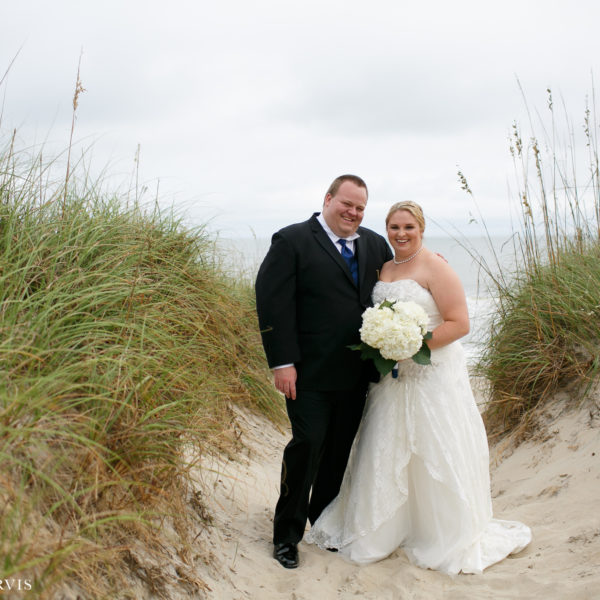 Hatteras Island Wedding - Mr. & Mrs. Morgan