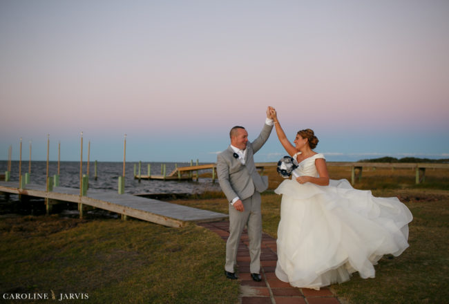 Inn on Pamlico Sound Wedding - Mr. & Mrs. Scanlon