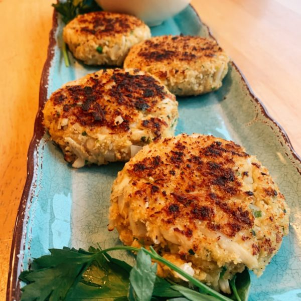 Homemade Carolina Crab Cakes Recipe :)